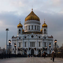 Alexander Senin - Panoramic View Of Cathedral Christ The Savior - Featured 3