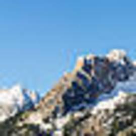 Vishwanath Bhat - Panoramic view of Sawtooth mountain range
