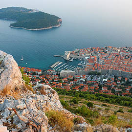 Kiril Stanchev - Panoramic view of the Old Town Dubrovnik and Island Lokrum