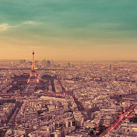 Vivienne Gucwa - Paris - Eiffel Tower and Cityscape at Sunset