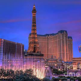 Eddie Yerkish - Paris Las Vegas at Sunset