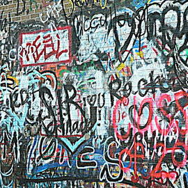Kathy Barney - Paris Mountain Graffiti