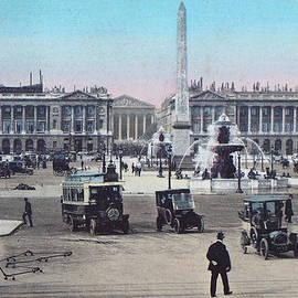 Ira Shander - Paris Place de la Concorde 1910