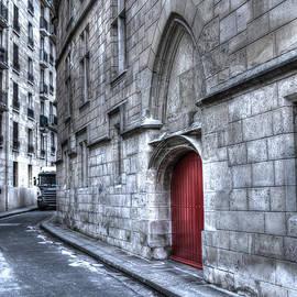 Evie Carrier - Paris Red Door