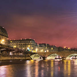 Radoslav Nedelchev - Paris Siene River At Night