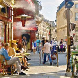 Marian Voicu - Paris Streetscape watercolor