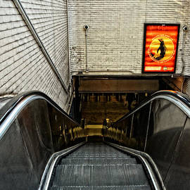 Mike Martin - Park St MBTA Escalator