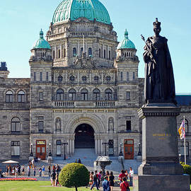 Connie Fox - Parliament Building Dome. Victoria British Columbia