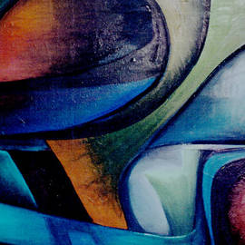 Genevieve Esson - Part Of An Abstract Painting