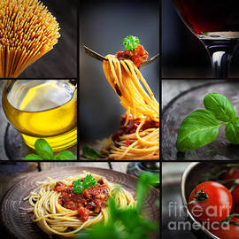 Mythja  Photography - Pasta collage