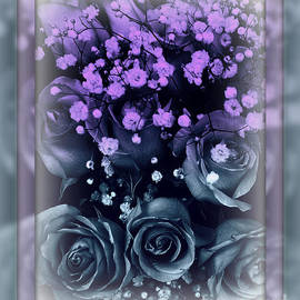 Miriam Danar - Pastel Roses and Babys Breath