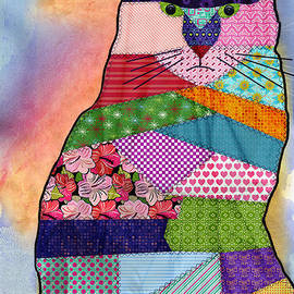 Juli Scalzi - Patchwork Kitty