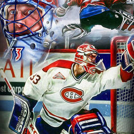 Mike Oulton - Patrick Roy Collage