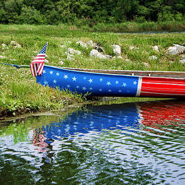 Nikolyn McDonald - Patriotic Canoe #1