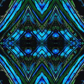 Sharon Cummings - Patterned Art Prints - Cool Change - By Sharon Cummings