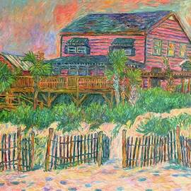 Kendall Kessler - Pawleys Island Pink on The Beach
