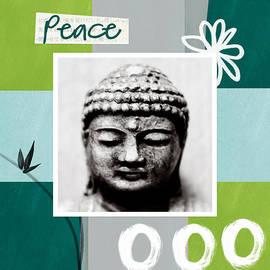 Linda Woods - Peaceful Buddha- Zen Art