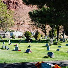 Robert Ford - Peaceful Cemetery below the Vermilion Cliffs in Kanab Utah