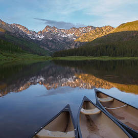 Aaron Spong - Peaceful Evening in the Rockies