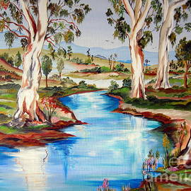 Roberto Gagliardi - Peaceful River In The Australian Outback