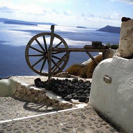 Colette V Hera  Guggenheim  - Peaceful Santorini Island