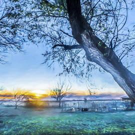 F Leblanc - Peaceful Vista - Painting