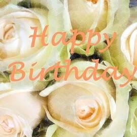 Barbie Corbett-Newmin - Peaches and Cream Roses Card