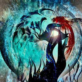 Linda Sannuti - Peacock Abstract