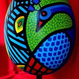 John  Nolan - Peacock Egg II