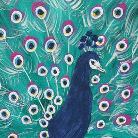 Beverly Livingstone - Peacock-feather-bird