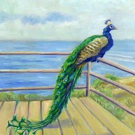 Catherine Garneau - Peacock on the Deck