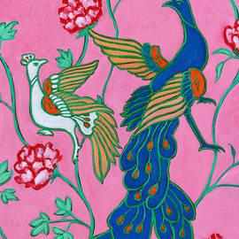 Xueling Zou - Peacocks Flying Southeast