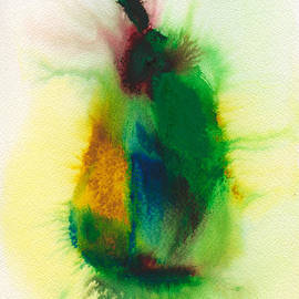 Frank Bright - Pear Abstract 3