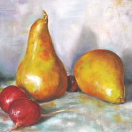 Timi Johnson - Pears with Radishes