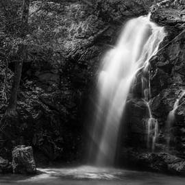 Shelby  Young - Peavine Falls in Monochrome