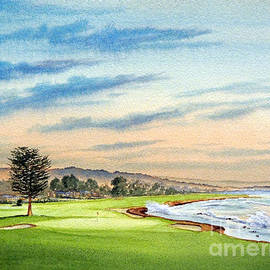 Bill Holkham - Pebble Beach Golf Course 18Th Hole