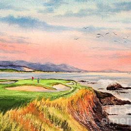 Bill Holkham - Pebble Beach Golf course Hole 7