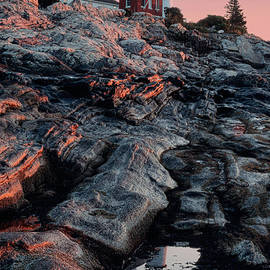 Jerry Fornarotto - Pemaquid in Early Morning Light