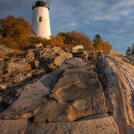 Clarence Holmes - Pemaquid Point Light I