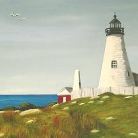 Janet Guss - Pemaquid Point Lighthouse
