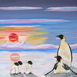 Phyllis Kaltenbach - Penguin Family