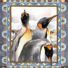 Anne Gifford - Penguin Family Portrait