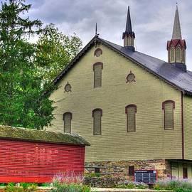 Michael Mazaika - Pennsylvania Country Roads - The Centennial Barn - Fort Hunter Park - Dauphin County