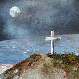 Eloise Schneider - Pensacola Beach by the Light of the Moon
