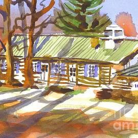 Kip DeVore - Penuel Lodge in Winter Sunlight