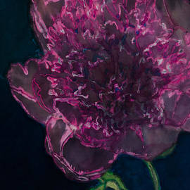 Kathy Goodson - Peony on Black