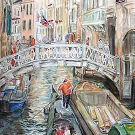 Becky Kim - People in Venice