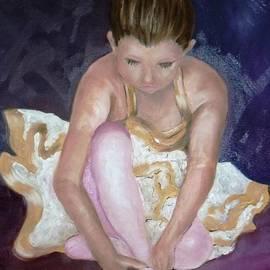 Therese Alcorn - Petite Danseuse - original SOLD