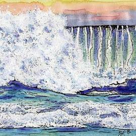 Diana Cardosi-Bussone - Pfieffer Beach Wave #2