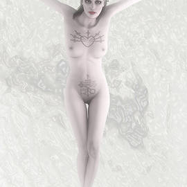 Joaquin Abella - White woman crucified By Quim Abella